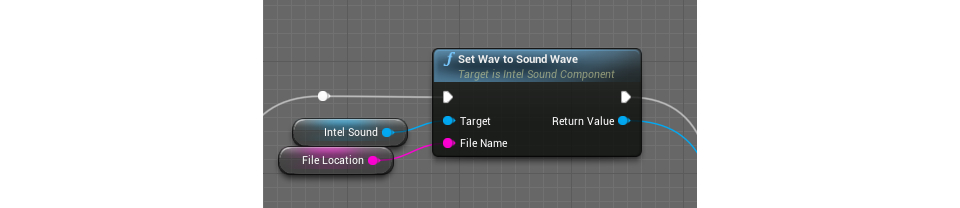 Intel vr audio editor tutorial master of shapes blueprint function passing a wav converted in usoundwave into blueprint malvernweather Image collections